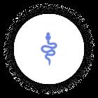 Icon SciPy Blue