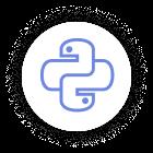 Icon Python Blue