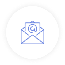 Icon Email Blue 04