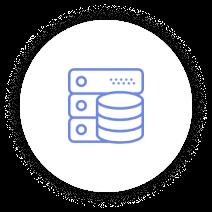Icon Data Blue 13