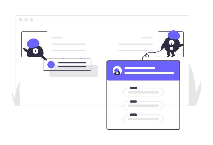 Illustration Creatures with Web Components