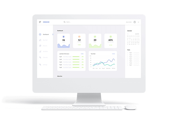 Cognivo investment management Summary Dashboard